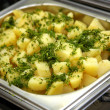 Cooked potato — Stock Photo