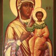 Mary and Jesus Christ - Stockfoto