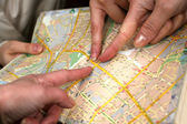 Street Map — Stock Photo