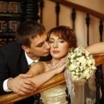 Novomanželé — Stock fotografie
