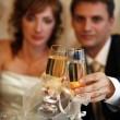 Sklenka šampaňského — Stock fotografie