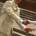 par recém-casado — Foto Stock