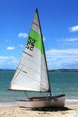Barco à vela número cinqüenta e dois — Foto Stock