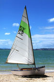 Sailing boat number fifty two — Stockfoto