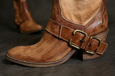 Boots of the cowboy — Stock Photo