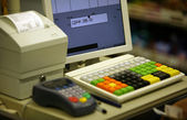 Cash register — Stockfoto