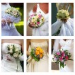 Stock Photo: Wedding bouquets