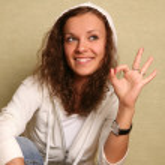 "Gesture ""ok"" — Stock Photo"