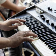 Electric piano — Stock Photo
