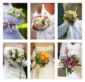 Wedding bouquets — Stock Photo