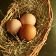Royalty-Free Stock Photo: Three eggs