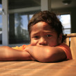 Maori boy - Stock Photo