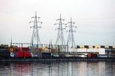 Port of Moscow — Stock Photo
