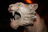 Sculpture of a lion — Stock Photo