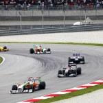 Formule 1. Sepang. avril 2010 — Photo