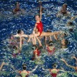 Synchronous swiming — Stock Photo #6247040