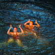 Synchronous swiming — Stock Photo #6247056