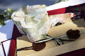 Wedding gifts — Stock Photo