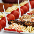 Shish kebab - Stock Photo