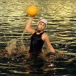 Action swimmer — Stock Photo
