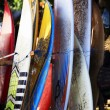 Surfing boards — Stock Photo