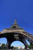 Eiffel Tower in Paris. — Stock Photo