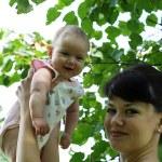 Happy mum and her child — Stock Photo #6462022