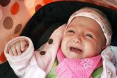 Baby cry — Stock Photo
