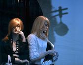 манекены - девушки — Стоковое фото