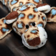 Leopard toy — Stock Photo