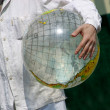 Globe in man's hands — Stock Photo #6482598