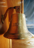 Ship bell — Stock Photo