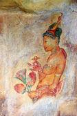 Sigiriya-fresken — Stockfoto