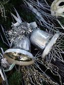Christmas handbells — Stock Photo