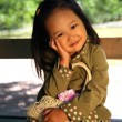 Korean child — Foto de Stock