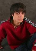 Portrait of the young man — Stock Photo