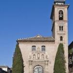 Church of San Gil and Santa Ana, Granada — Stock Photo