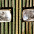 Tractor headlights — Stock Photo #6166708
