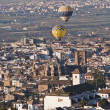 Granada flying balloons — Stock Photo