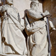 ストック写真: Sculpture of St. Paul and St. Peter