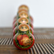 Royalty-Free Stock Photo: Matryoshka or Russian dolls