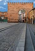Puerta de elvira, toegang tot de oude granada — Stockfoto