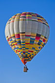 Balloon in flight — Stock Photo