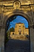 монастырь картезианского, гранада — Стоковое фото