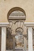 Different arcs of Medina Azahara — Stock Photo