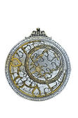 Arab astrolabe on a white background — ストック写真