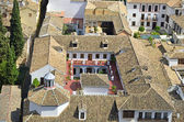 Albaicín homes in the view from above — Stock Photo