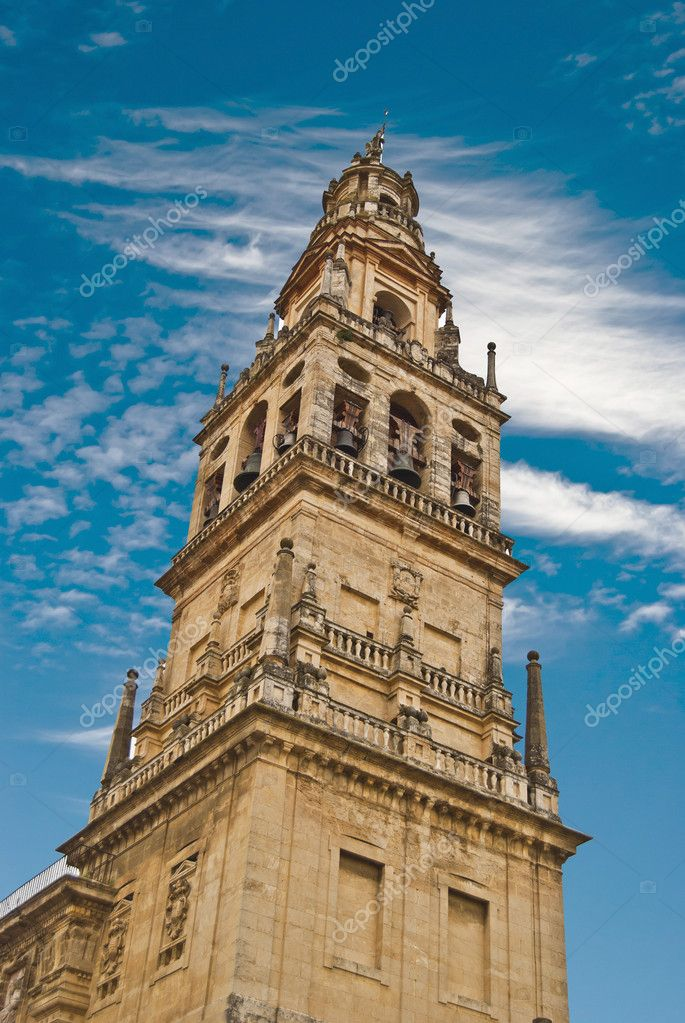 Minaret of the mosque-cathedral of Cordoba  Stock Photo #6166392