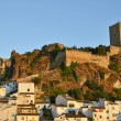 CazorlCastle in evening — Stock Photo #6381574