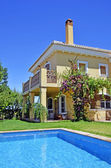 Beautiful villa with pool in Spain — Stock Photo